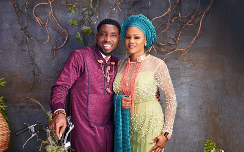 Timi Dakolo and Wife, Busola Celebrate 8th Wedding Anniversary