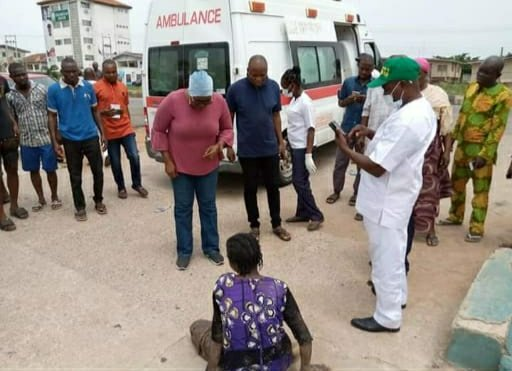 Woman jumps into Osun River over hunger caused by lockdown
