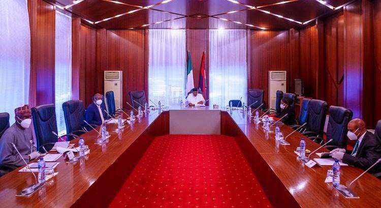 Buhari meets COVID-19 Presidential Committee