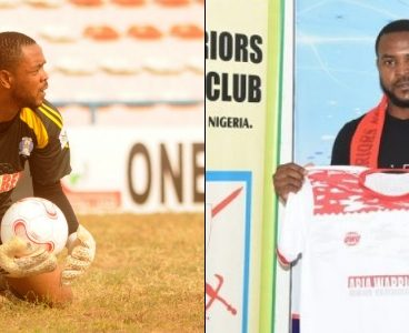 Abia Warriors' goalkeeper Charles Tambe shot, hospitalized in Ibadan