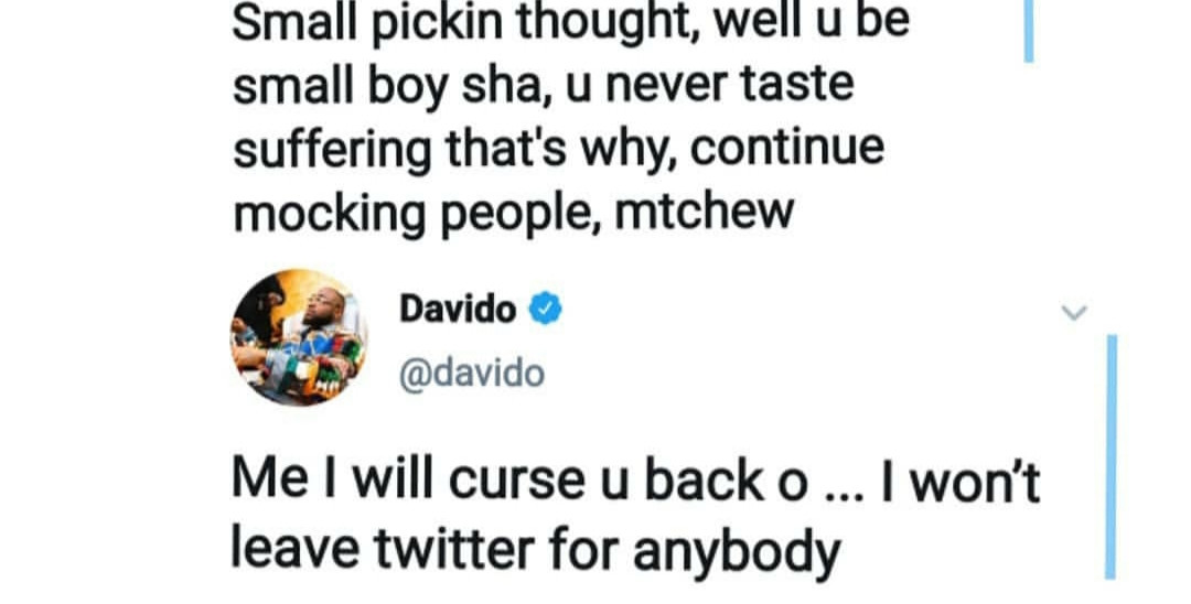 Davido reveals why he cannot do giveaway during Coronavirus lockdown