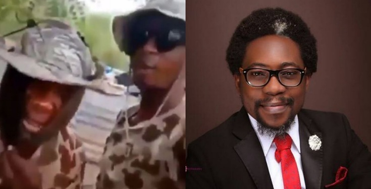 Segalink reacts to viral video of soldiers who threatened to rape women in Warri