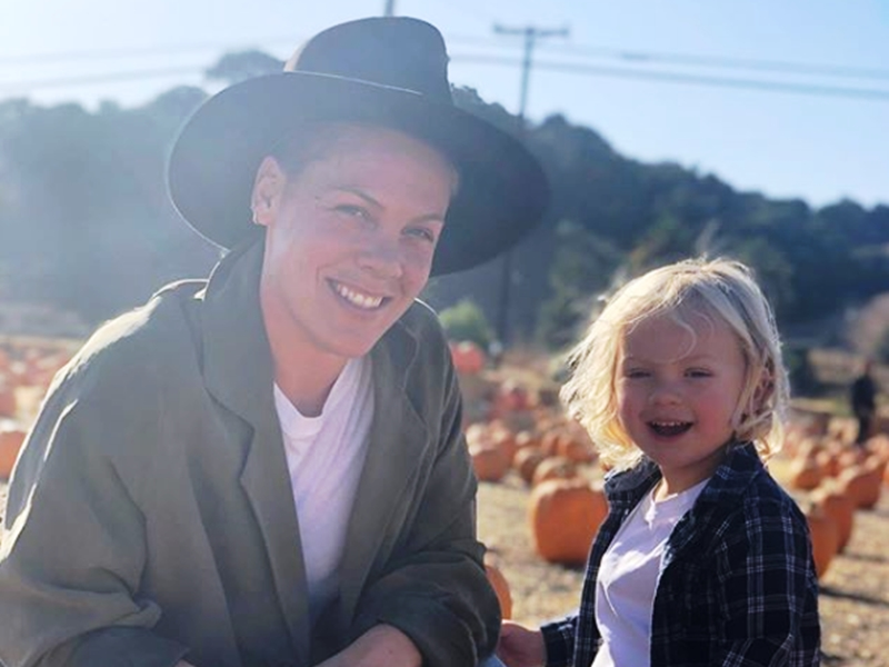 American singer, Pink and son test positive for Coronavirus, slams US government for not providing test kids