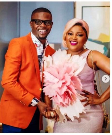Funke Akindele celebrates husband JJC Skillz on his 43rd birthday