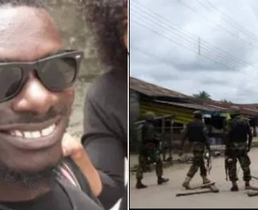 'His mum was shot dead in 2010', Father of man killed by soldier in Warri demands justice