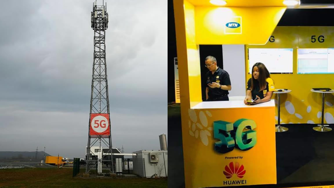 MTN tested 5G in Nigeria without license in Abuja, Lagos, Calabar; First trial powered by Huawei, others