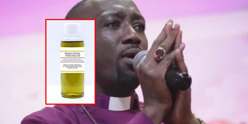 Pastor lands in trouble for selling 'anti-Coronavirus oil' for N40,950