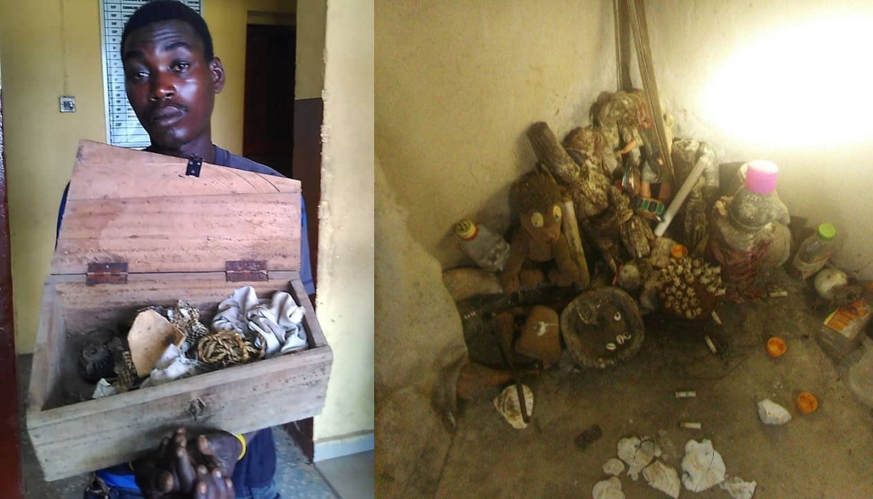 Suspected ritualist arrested in Lagos