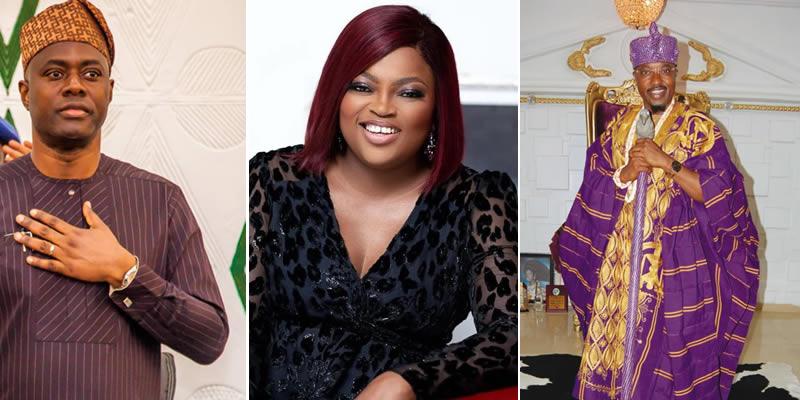Funke Akindele, Oluwo of Iwo, Seyi Makinde and other 'clowns of Covid-19'