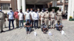 Three Nigerian nationals arrested in India with 2.4 Kg of heroin