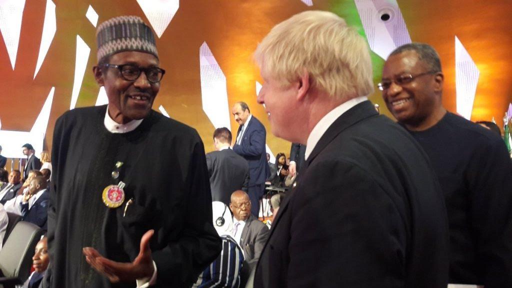 COVID-19: Buhari prays for Boris Johnson's recovery