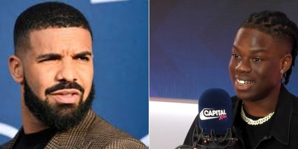 'I just recorded a hit song with Rema', Drake discloses