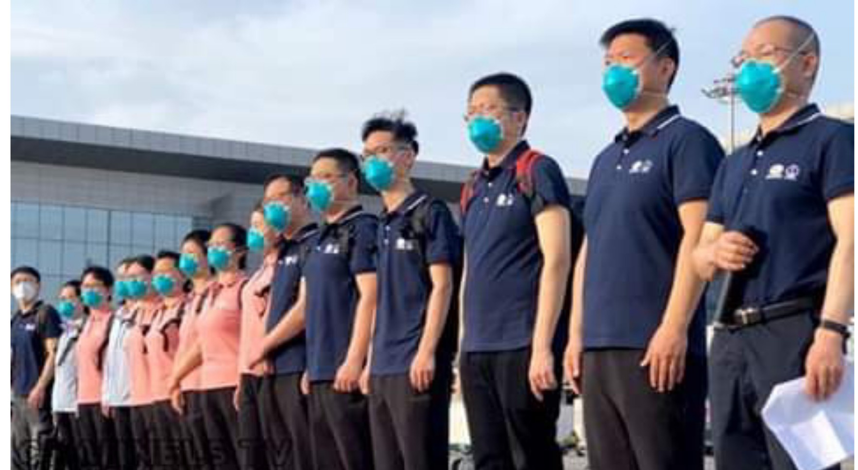 COVID-19: Chinese medical team arrives in Nigeria