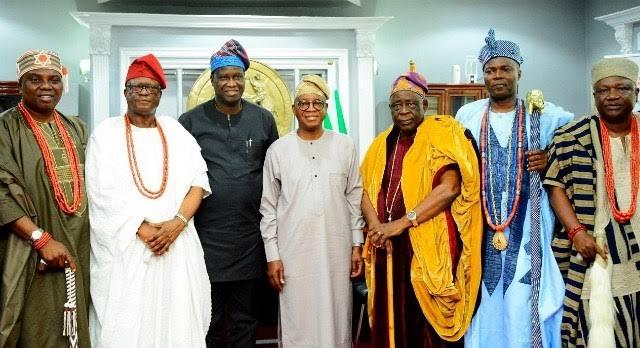 Endure the lockdown, Osun monarchs plead