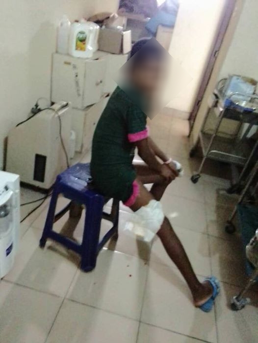Female police officer accused of dousing her 13-year-year-old niece with hot water in Rivers state