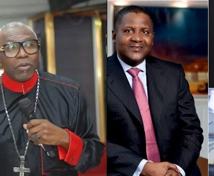 Apostle Oritsejafor rains curses on Nigerians donating to FG to fight coronavirus