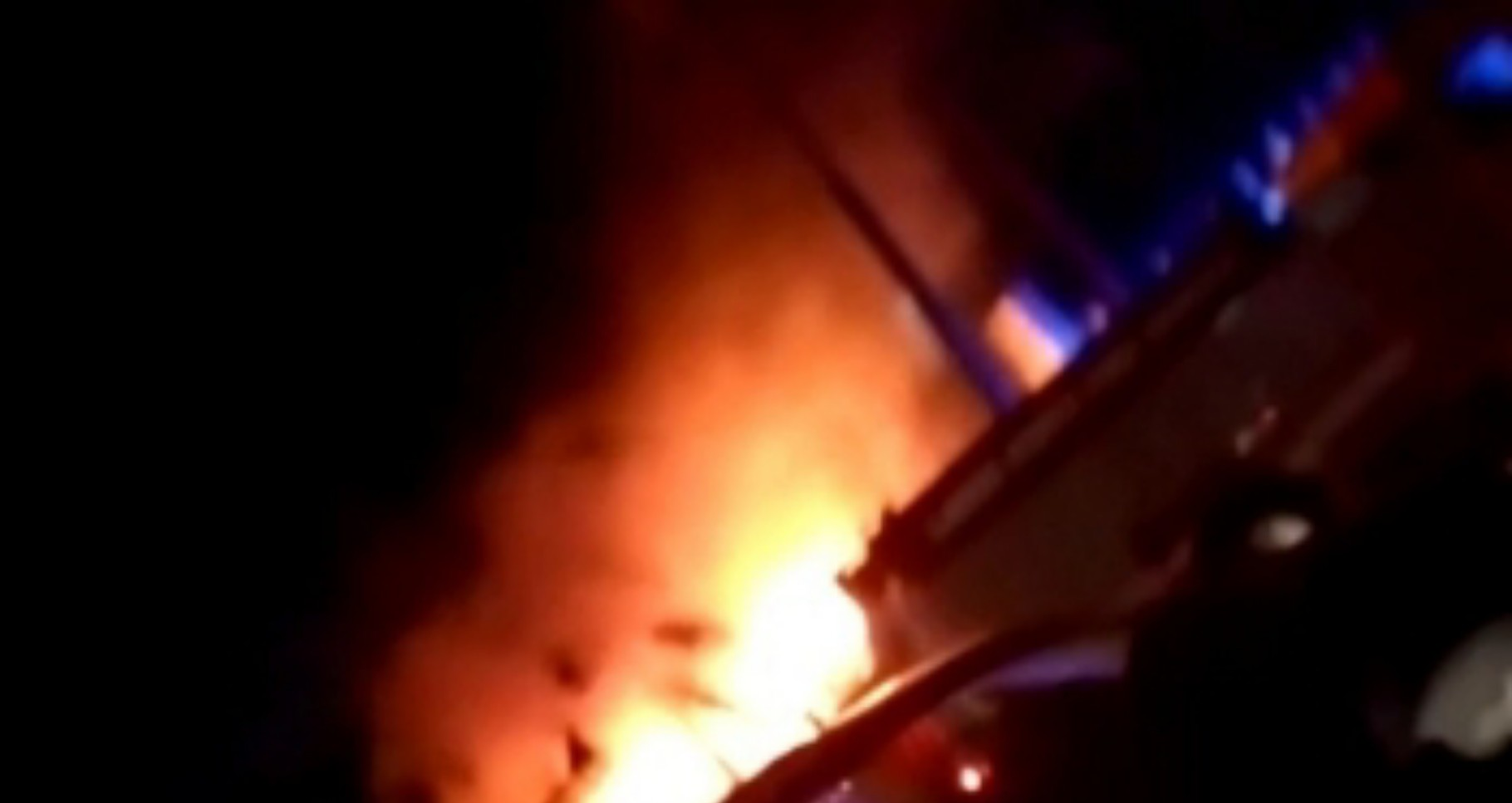 JUST IN: Lagos Airport Hotel on fire