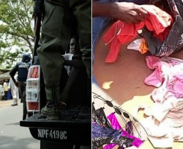 Men arrested for possession of used female pants, arraigned