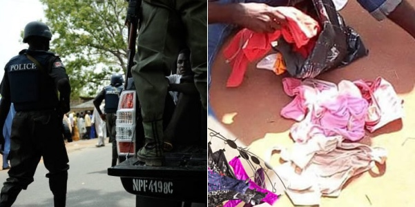 Men arrested for possession of used female pants arraigned