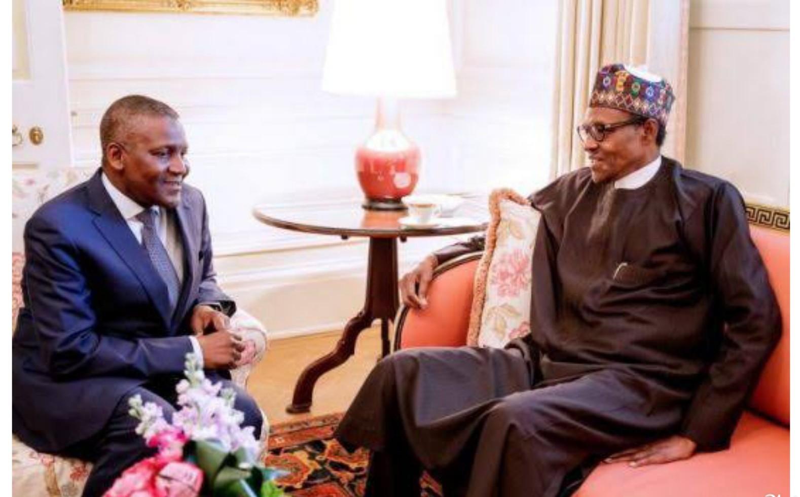 Buhari felicitates Dangote at 63