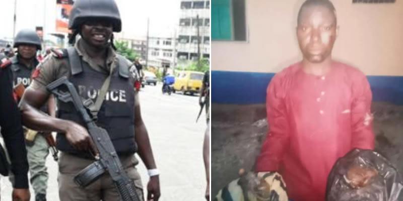 Man arrested for stealing baby's placenta in Ogun