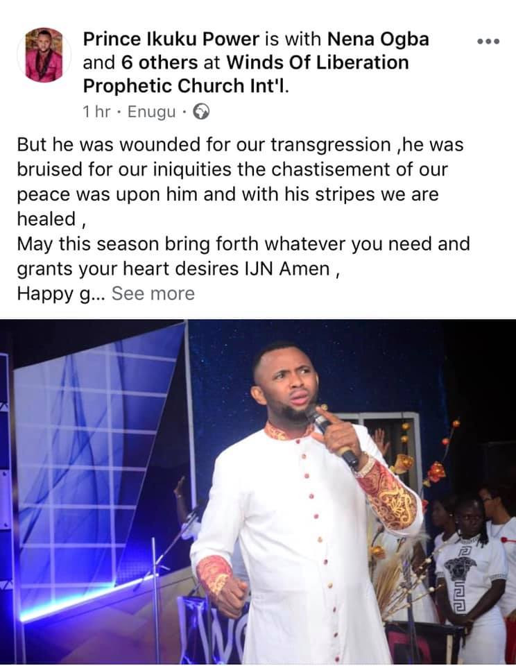 Nigerians react as pastor who raped little boy in 2019 resumes work as a Cleric