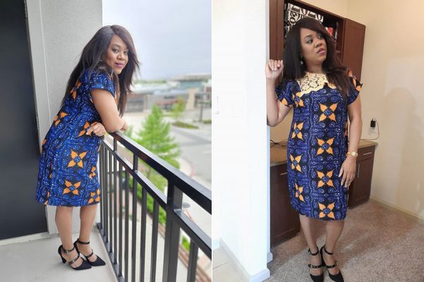 Stella Damasus discloses a personal detail about herself as it concerns her spiritual life