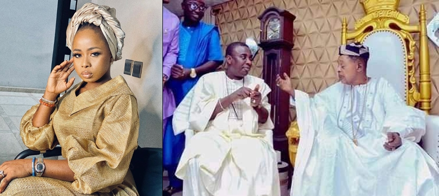 Alaafin of Oyo's estranged Queen calls on Oyo oracles to punish her over alleged affair with KWAM1