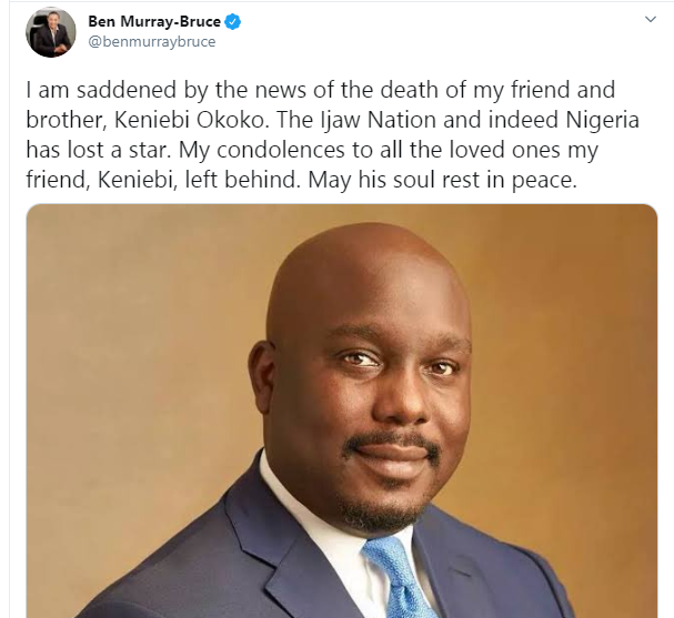 Keniebi Okoko dies during plastic surgery