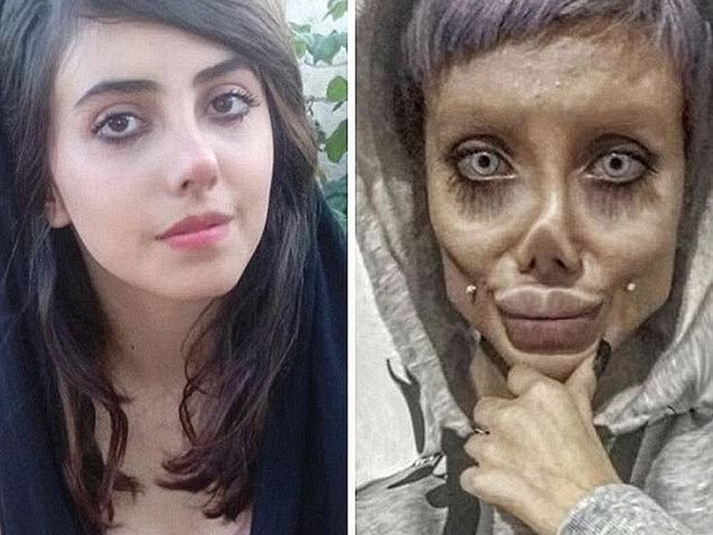 Angelina Jolie 'lookalike' Sahar Tabar is on a ventilator after contracting Coronavirus in prison