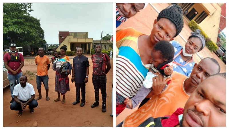 Pastor whose wife and two months old baby were detained by NDLEA officials in Delta have been released