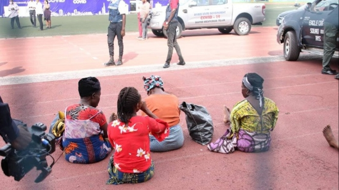 Coronavirus lockdown: 22 traders transported in container arrested in Rivers state