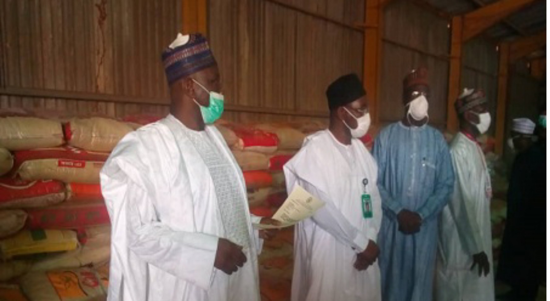 COVID-19: FG donates 1,800 bags of rice to Gombe Govt