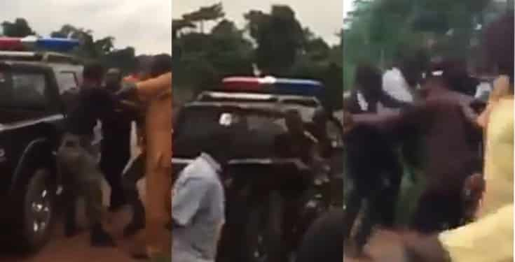 Nigerian Police Officers Fight Dirty Over Bribe In Edo State