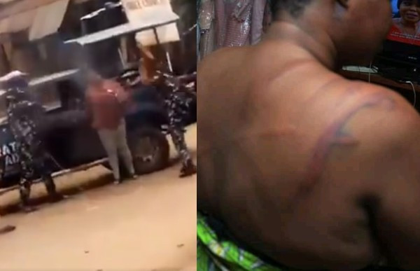 Update: Police officers caught on camera flogging a lady in Osun have been dismissed from service