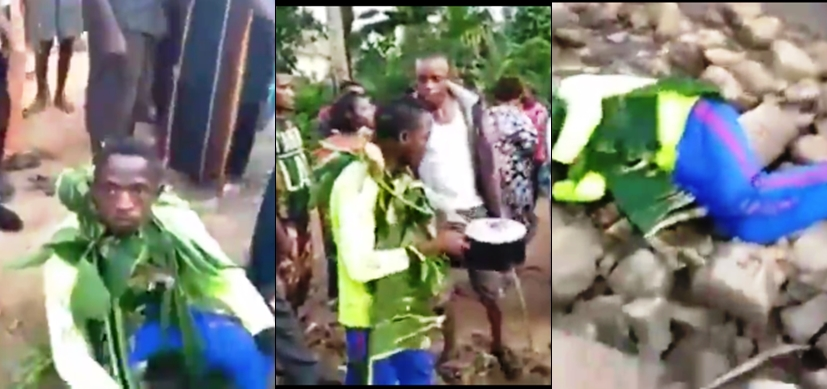 21-year-old man allegedly posions his twin brother for money ritual (video)