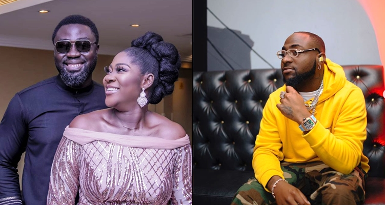 Davido refers to Mercy Johnson and husband as 'wicked people' after birth rumour