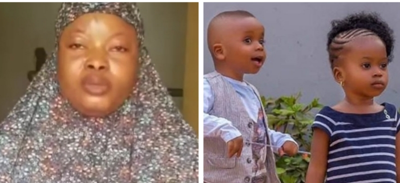 VIDEO: Wife of Popular Oyo Islamic cleric reacts to abduction of children, makes shocking revelation