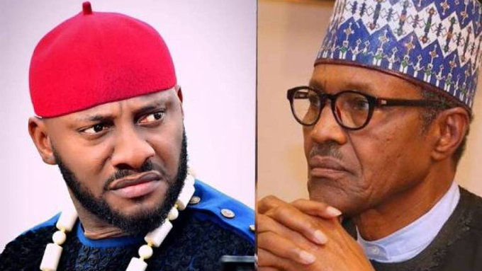 Yul Edochie sends message to Buhari ahead of National broadcast