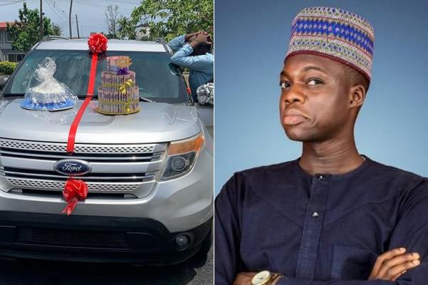 IG comedian Cute Abiola gets car gift on birthday