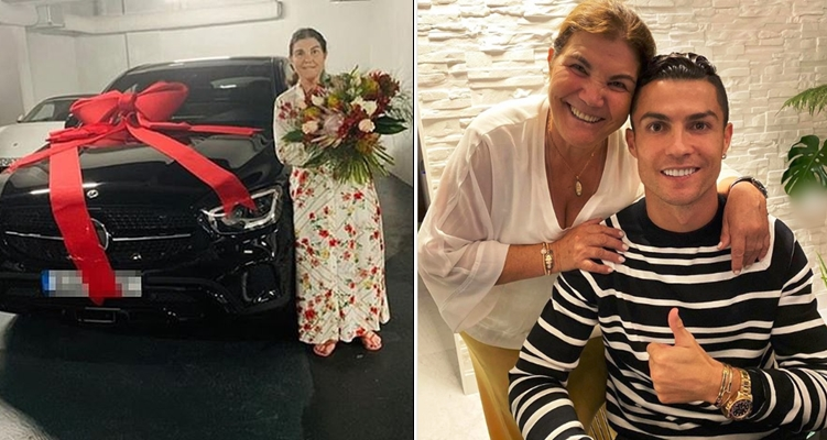 Cristiano Ronaldo buys his mother a brand new Mercedes to ...