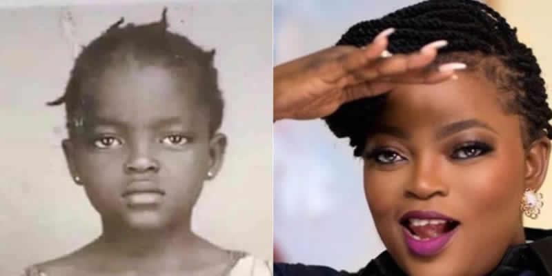 Funke Akindele Throwback