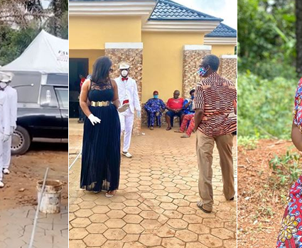 VIDEO: Actress Destiny Etiko's Father's Corpse Arrives Home For Burial