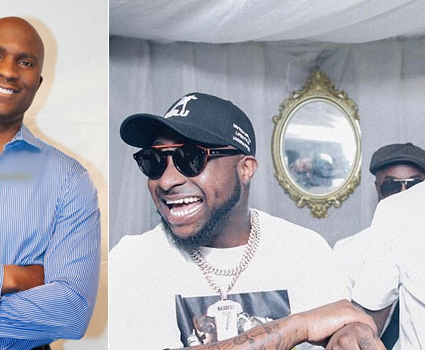 The Greatest Of All Times: UK OAP Adesope Olajide reveals how Davido celebrated Burna Boy's success