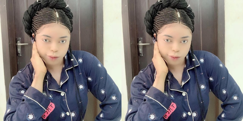 Bobrisky's New Look Causes Commotion Among Fans