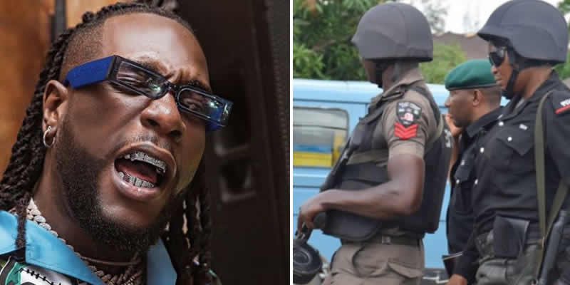 News Of Burna Boy's Arrest Is Rumour, They Just Recycled An Old Story, Lagos State Police PRO Says