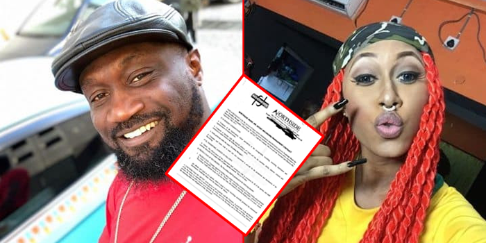 Check Out the Contract Between Cynthia Morgan & Jude Okoye's Northside Entertainment