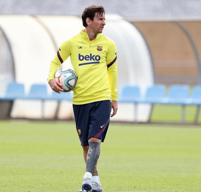 Lionel Messi's Debuts New Look