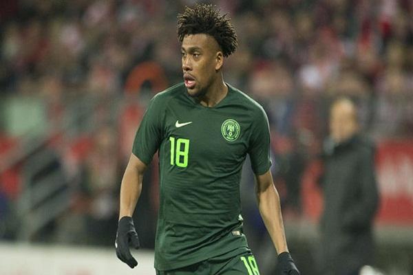 Why I Snubbed England To Represent Nigeria - Alex Iwobi
