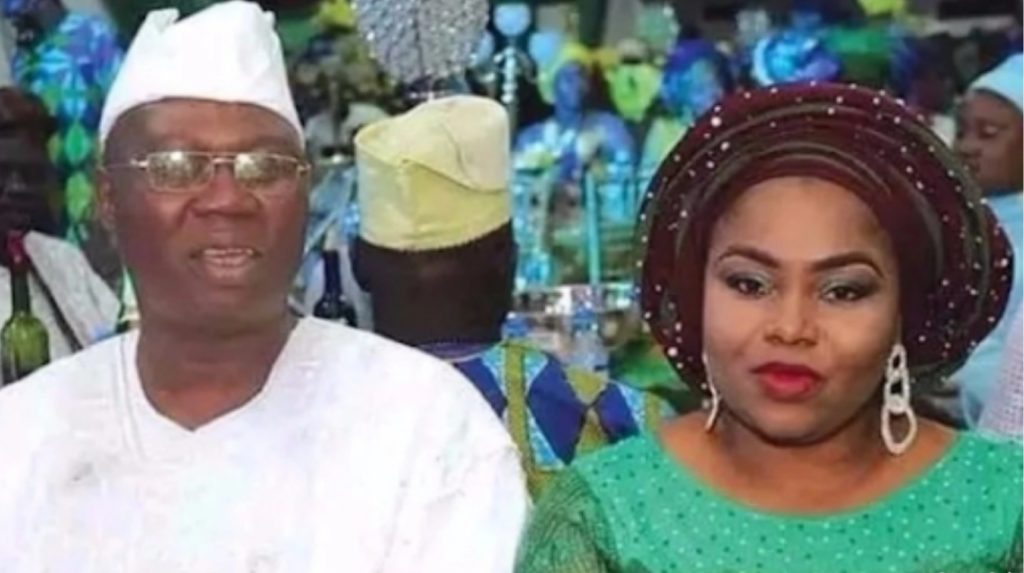 Gani Adams, wife welcome set of twins